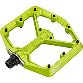 Crankbrothers Stamp 7 Large Pedals green
